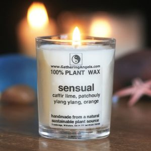 Natural Votive Candle - Essential Oils